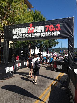 Image: Ironman 70.3 2017 entrance